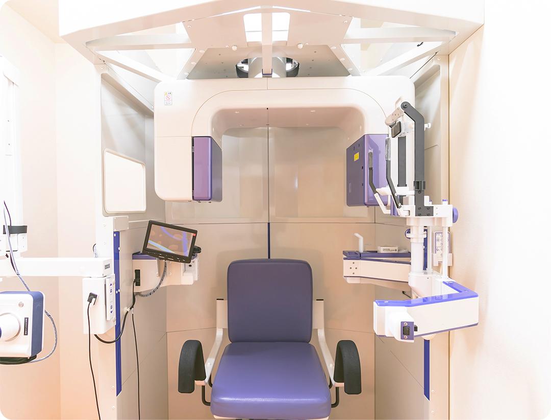 歯科用CTを設置