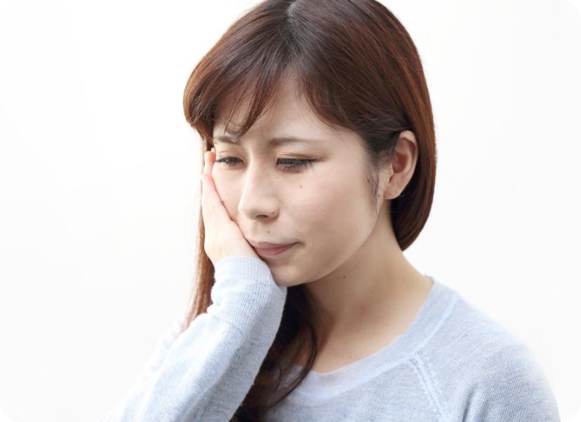 無症状のまま進行する歯周病